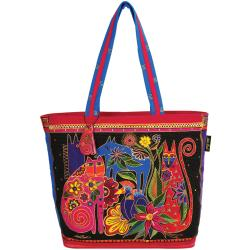"Shoulder Tote Zipper Top 19-1/2""X7""X15-1/2""-Kindred Creatures"