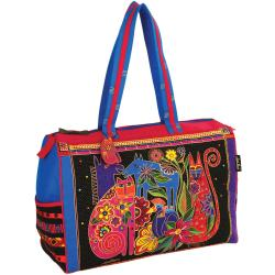 "Travel Bag Zipper Top 21""X8""X15""-Kindred Creatures"