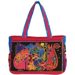 "Medium Tote Zipper Top 15""X4""X10""-Kindred Creatures"