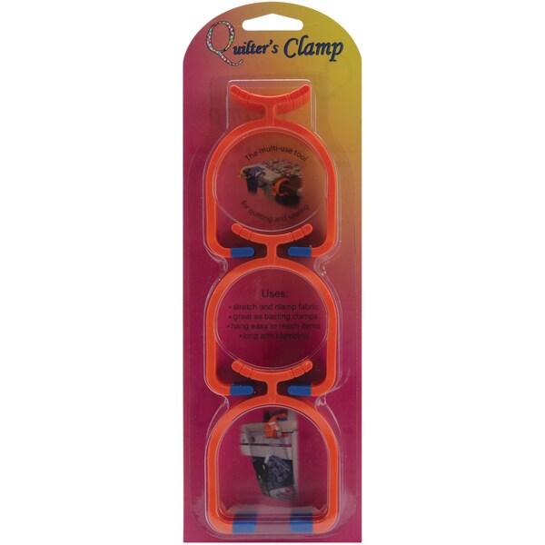 Quilter's Clamp 3/Pkg-Orange