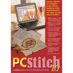 M&R Technologies PC Stitch 10 Professional Cross-stitch Software
