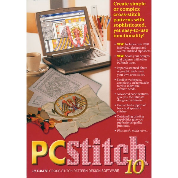M&R Technologies PC Stitch 10 Professional Cross-stitch Software