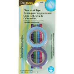 "Upholstery Placement Tape 1/2""X10 Yards 2/Pkg"