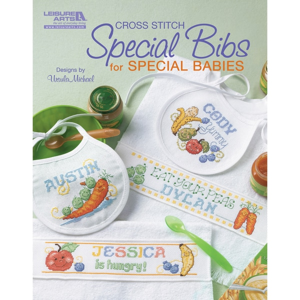 Leisure Arts-Special Bibs For Special Babies