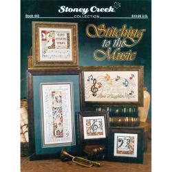 Stoney Creek - 'Stitching To The Music' Cross-stitch Pattern Book