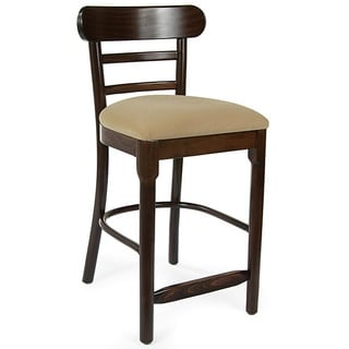 Corona Solid Beech Wood Counter Stool