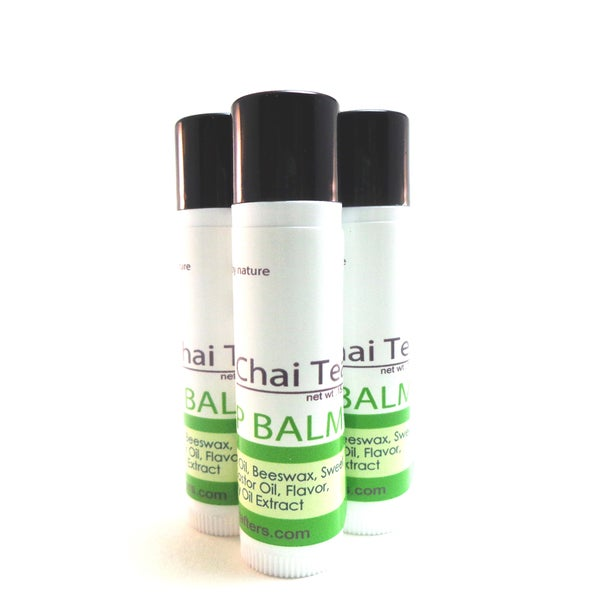 Chai Tea Hemp .15-ounce Lip Balm by Karess Krafters (Three-pack)