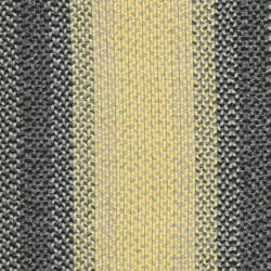 Hand-woven Reversible Yellow/ Black Braided Rug (6' x 9' Oval)