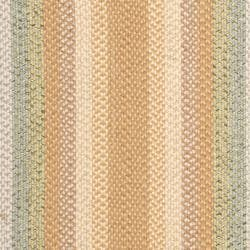 Hand-woven Country Living Reversible Tan Braided Rug (6' x 9' Oval)