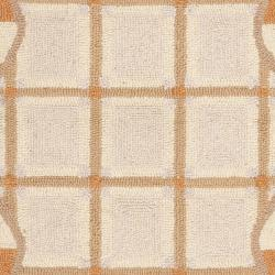Safavieh Hand-hooked Chelsea Ivory/ Gold Wool Rug (2'9 x 4'9)