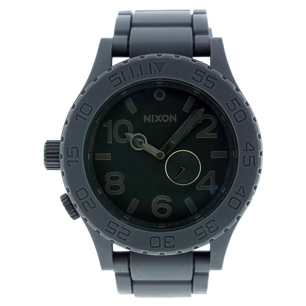Nixon Men's 51-30 Gray Watch