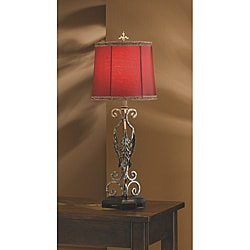 Antique Gold 30.5-Inch High Table Lamp