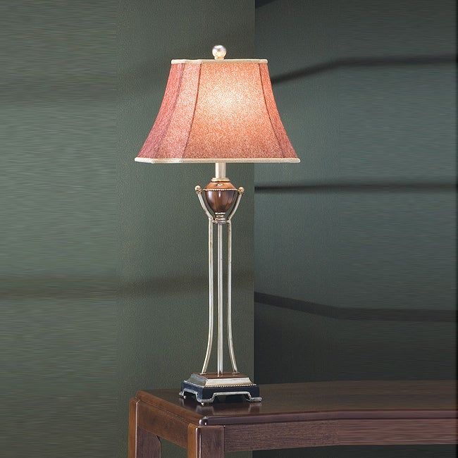 Antique Gold Traditional 32-inch Table Lamp