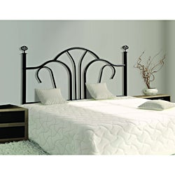 Satin Black Queen/ Full-size Combo Headboard