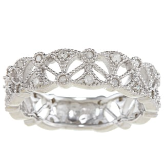 Sterling Silver 1/2ct TDW Diamond Eternity Band (G-H, I1-I2)