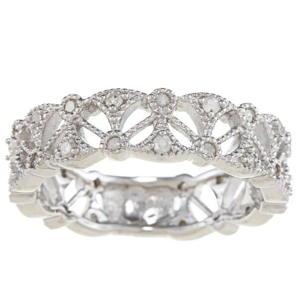 Sterling Silver 1/2ct TDW Fashion Diamond Band (G-H, I1-I2)
