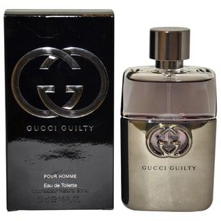 Gucci Guilty Men's 1.6-ounce Eau de Toilette Spray