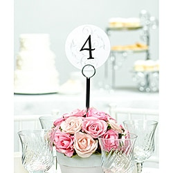 HBH Filigree Table Number Cards