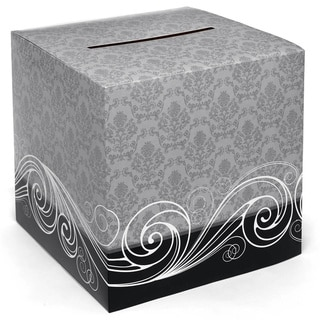 Damask Card Box