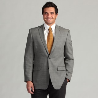 Calvin Klein Men's Notch Lapel 2-button Wool Sport Coat