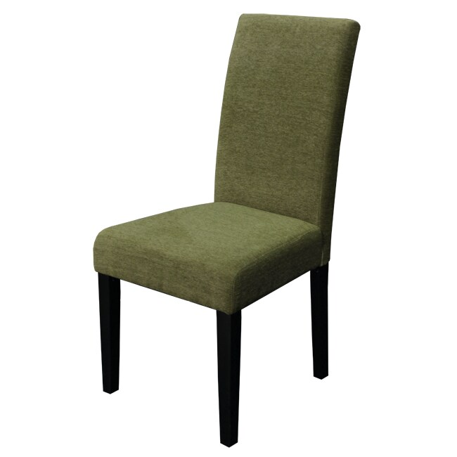 Monsoon Aprilia Moss Green Upholstered Dining Chairs (Set of 2)