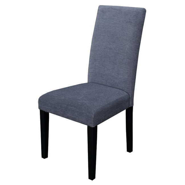 Aprilia Smokey Blue Upholstered Dining Chairs (Set of 2)