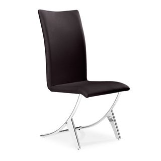 Delfin Dining Chair Espresso (set of 2)