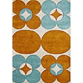 Alliyah Hand Made Tufted Banana Crepe Blend Wool Rug (5' x 8')