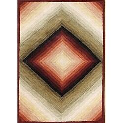 Alliyah Handmade Gray Sand Mix New Zealand Blend Wool Rug (5' x 8')