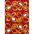 Alliyah Hand Made Fiesta New Zealand Blend Wool Rug (5' x 8')