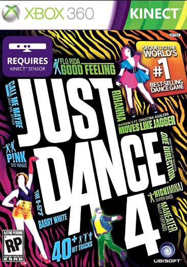 Xbox 360 - Just Dance 4