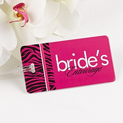 Bride's Entourage Luggage Tag