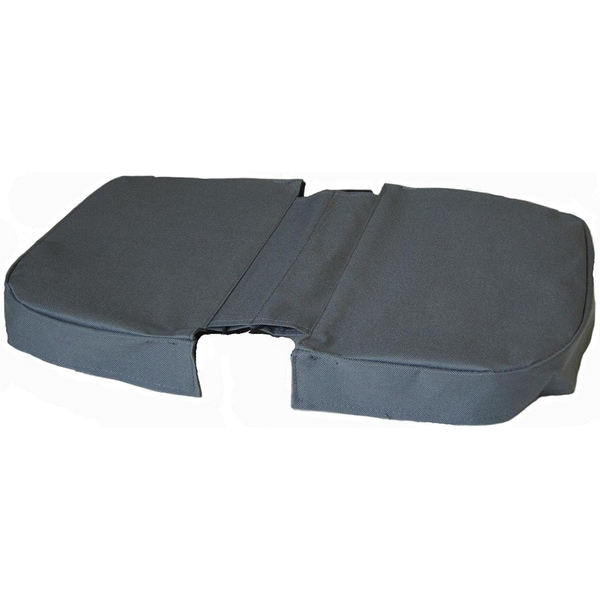 JanetBasket Grey Large Basket Cover-Grey