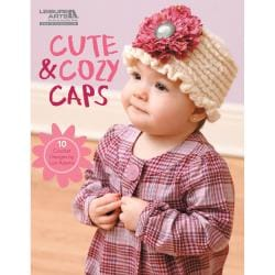 Leisure Arts-Cute & Cozy Caps