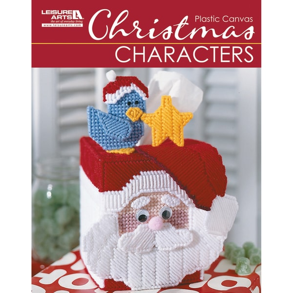 Leisure Arts-Christmas Characters