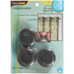 "Grommets 1"" Inner Diameter 8/Pkg-Brown"