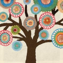 Handmade Collection Tree Crewel Embroidery Kit-10