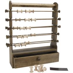 Edmunds Wood Antique Thread Keeper