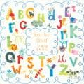 "Baby Hugs Alphabet Birth Record Counted Cross Stitch Kit-12""X12"" 14 Count"