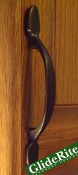 GlideRite 5.75-inch Oil Rubbed Bronze Classic Cabinet Pulls (Set of 10)