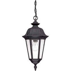Cortland 1-light Satin Iron Ore Hanging Lantern