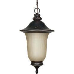 Parisian 1-light Old Penny Bronze Hanging Lantern