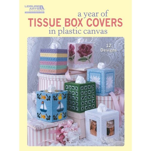 Leisure Arts-A Year Of Tissue Covers