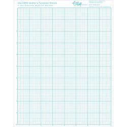 Visi-GRID Quilter's Template Sheets-8-1/2