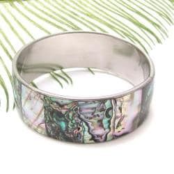 Green Shadows Genuine Abalone Link Bracelet (Philippines)