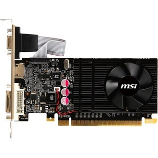 MSI N610GT-MD1GD3/LP GeForce GT 610 Graphic Card - 810 MHz Core - 1 G