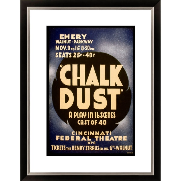 'Chalk Dust a Play in 16 Scenes' Framed Limited Edition Giclee
