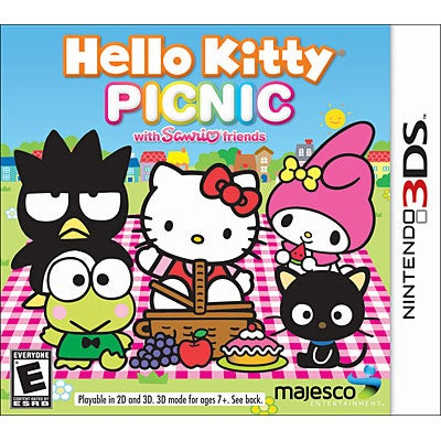 NinDS 3DS - Hello Kitty Picnic