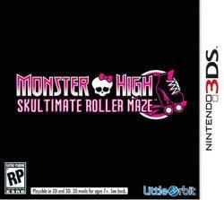 Nintendo 3DS - Monster High Skultimate Ro