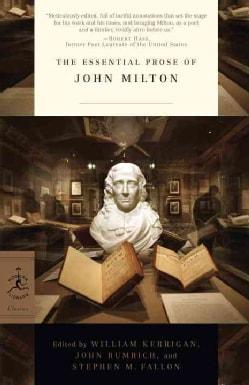 The Essential Prose of John Milton (Paperback)